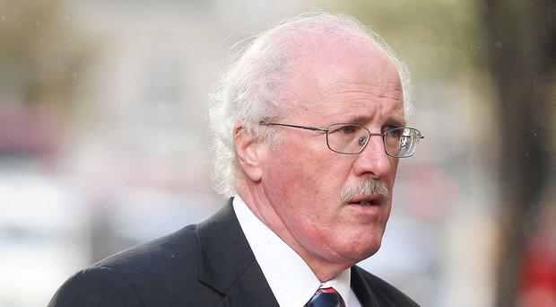 MP Jim Shannon was unhappy at the choice of song for Gerry Adams