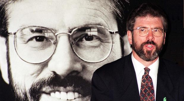Gerry Adams in 1996 (Tony Harris/PA)