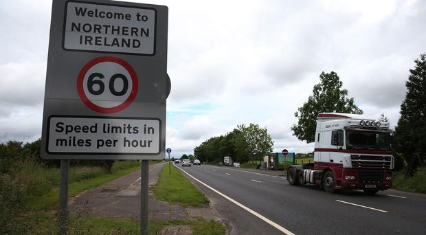 An Irish senator says any border between the Republic and Northern Ireland would threaten the peace process. (Brian Lawless/PA)
