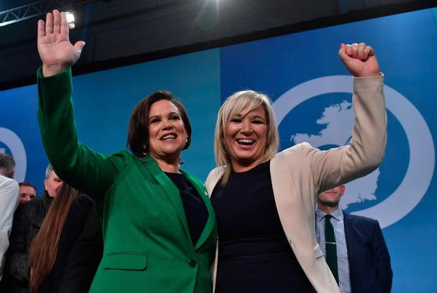 Mary Lou McDonald and Michelle O'Neill