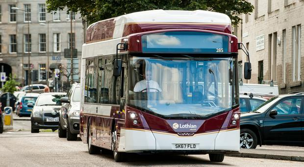 A Wrightbus StreetAir vehicle (Wullie Marr/PA)