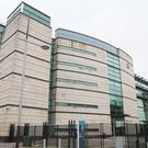 The trial is taking place at Belfast Crown Court (Niall Carson/PA)