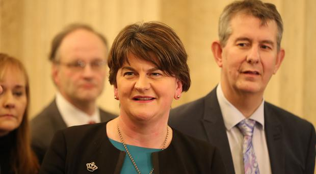 The DUP's Arlene Foster (Niall Carson/PA)
