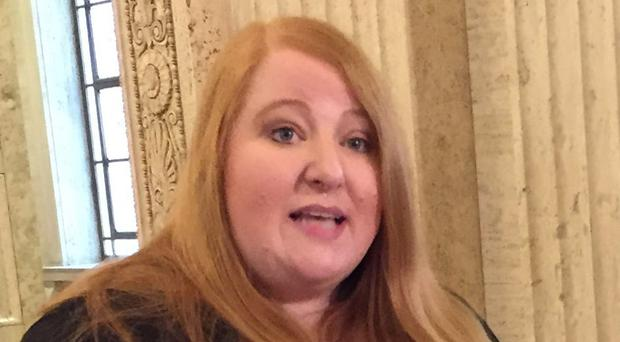Alliance Party leader Naomi Long
