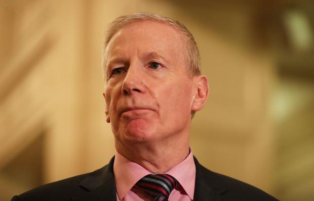 The DUP's Gregory Campbell (Niall Carson)