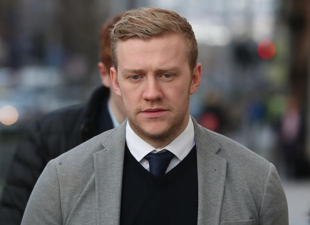 Stuart Olding denies the charges (Niall Carson/PA)