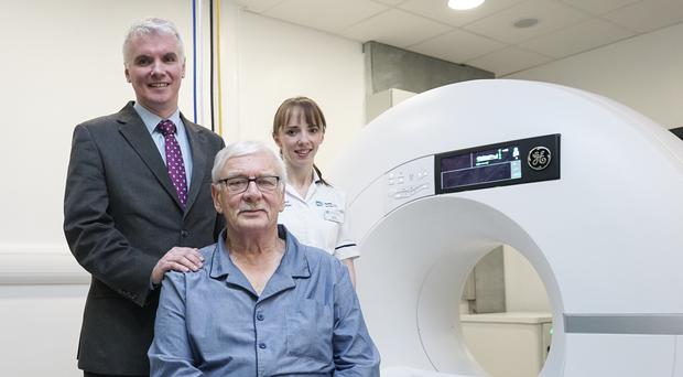 A new CT scanner has been installed at Ulster Hospital (South Eastern Health and Social Trust/ PA)