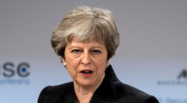Condemnation: Prime Minister Theresa May has demanded action