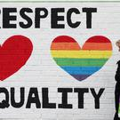 A mural in support of same sex marriage on the Falls Road in Belfast (Niall Carson/PA)