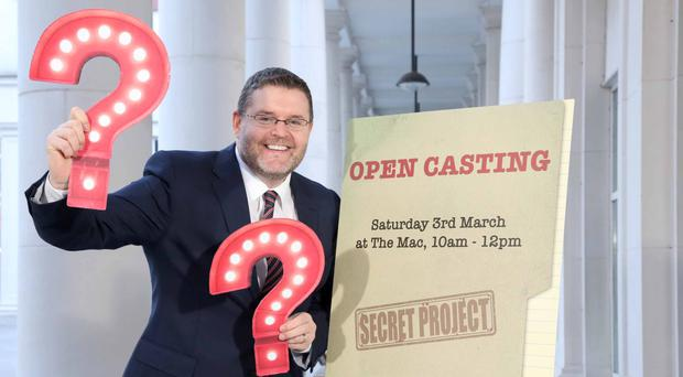 Musgrave Communications Manager Michael McCrory launches his firm's secret project