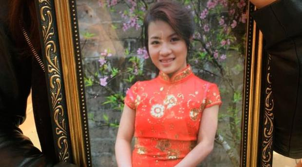 Quyen Ngoc Nguyen, was found in a burning car in Houghton