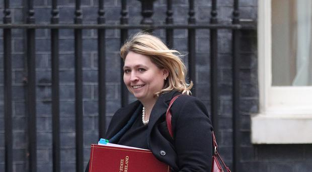 Northern Ireland Secretary Karen Bradley has been urged to introduce measures tackling the legacy of Northern Ireland's violent past (Jonathan Brady/PA)