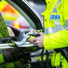 A woman has appeared in court in Ballymena after recording a drink-drive breath reading of more than four times the limit.