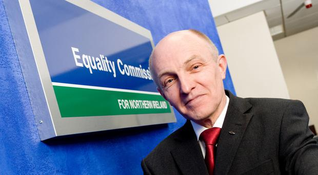 Dr Michael Wardlow, chief commissioner of the Equality Commission, said the number of complaints of sexual harassment at work had increased. (Equality Commission/PA)