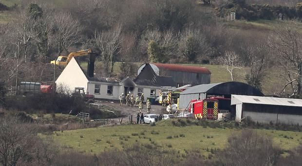Murder investigation under way after three die in Fermanagh house fire