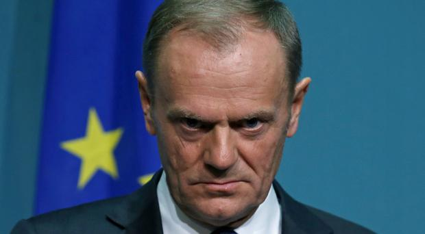 Donald Tusk has warned there will not be frictionless trade after Brexit (Laura Hutton/PA)