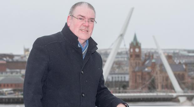 Derry City and Strabane District councillor Jim McKeever