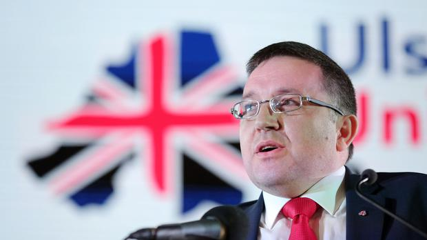 The UUP's Robin Swann