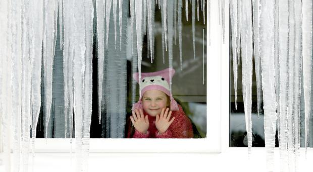 Cold conditions are gripping the country (Andrew Milligan/PA)