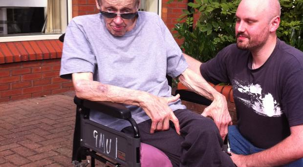 Norman Vance has been waiting for a care home place for months