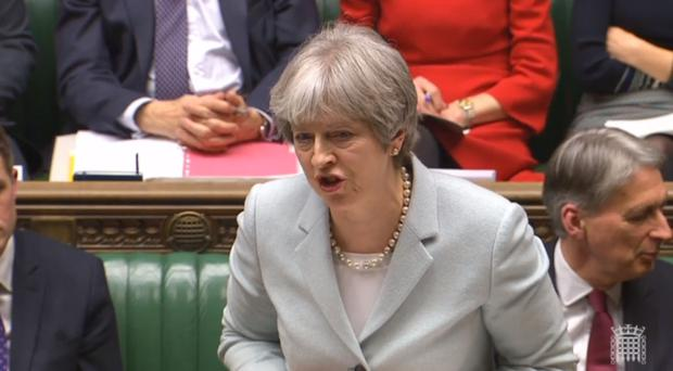 Theresa May has updated MPs on her Brexit plans (PA Wire/PA)