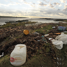 Last year an average of 437 items of rubbish were found per 100m of beach here