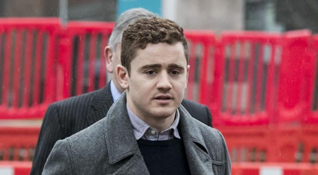 Ireland and Ulster rugby player Paddy Jackson (Liam McBurney/PA)