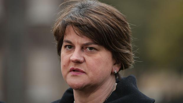 Arlene Foster thought a bid for extra funding for inquests could wait, a judge said. (Yui Mok/PA)
