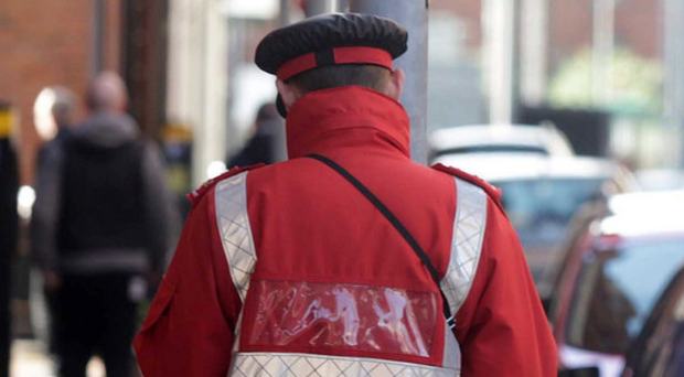 Traffic wardens are unable to dish out tickets in certain areas across Northern Ireland. (stock photo)