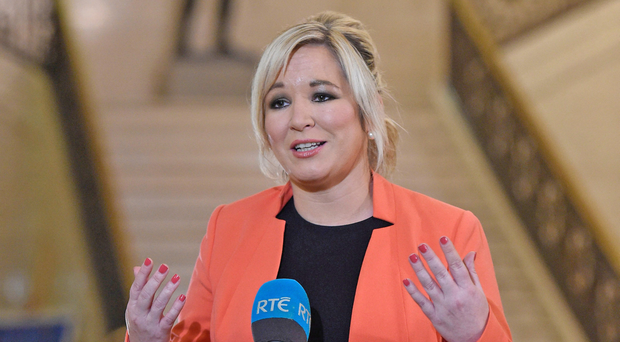 Sinn Fein's northern leader Michelle O'Neill