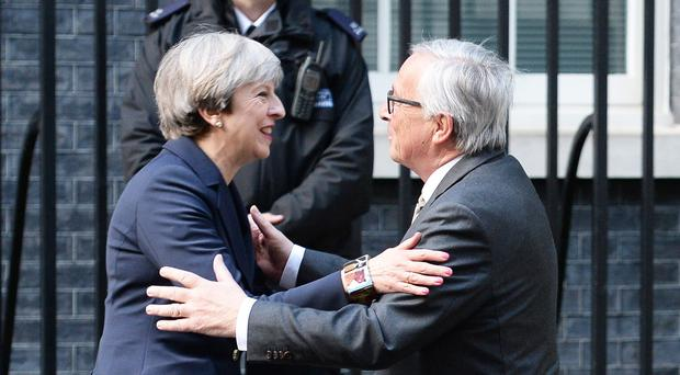 Jean-Claude Juncker has suggested the UK will regret Brexit (John Stillwell/PA)