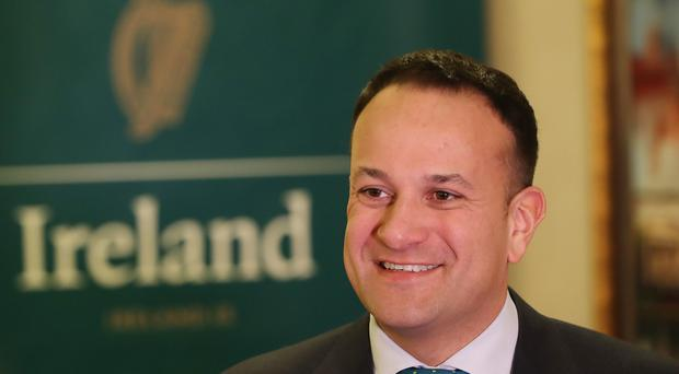 Taoiseach Leo Varadkar at the US Chamber of Commerce on his week- long visit to the US