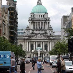 Belfast city centre. Credit: PA