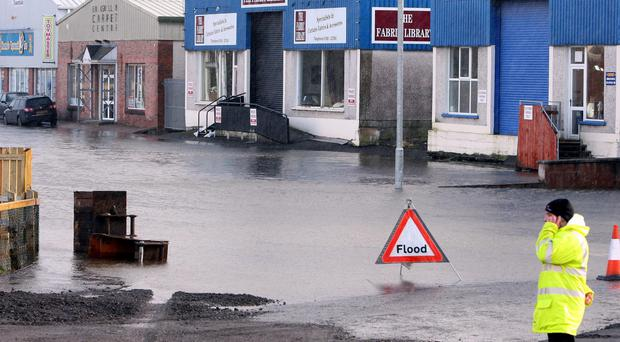 Flooding in Northern Ireland (Paul Faith/PA)