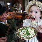The Ulster American Folk Park will be celebrating St Patrick's Day tomorrow with costumed guides re-enacting the emotive send-off which was carried out by countless thousands of people before their voyage from Ireland to America in the 1700s and 1800s