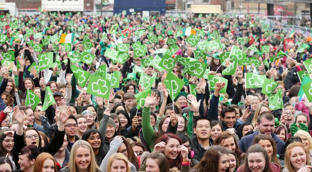 Revellers have been warned to leave their cars at home this St Patrick's Day
