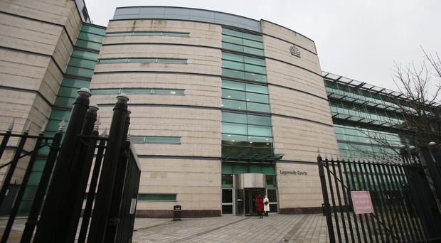 The man appeared at Belfast Magistrates' Court