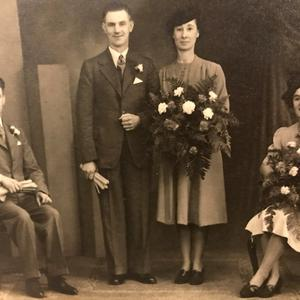 The wedding photograph found discarded in a Belfast back alley by Larne man Jonathan Kelly