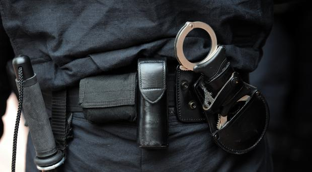 Police equipment (Anthony Devlin/PA)