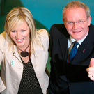 Michelle O'Neill and Martin McGuinness