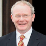 Martin McGuinness and Ian Paisley earned the nickname 'The Chuckle Brothers'