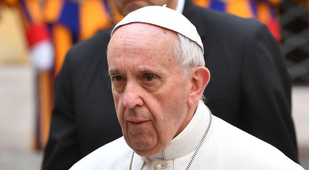 Pope Francis will visit Ireland (PA)