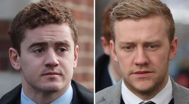 Irish rugby stars Paddy Jackson and Stuart Olding cleared of rape
