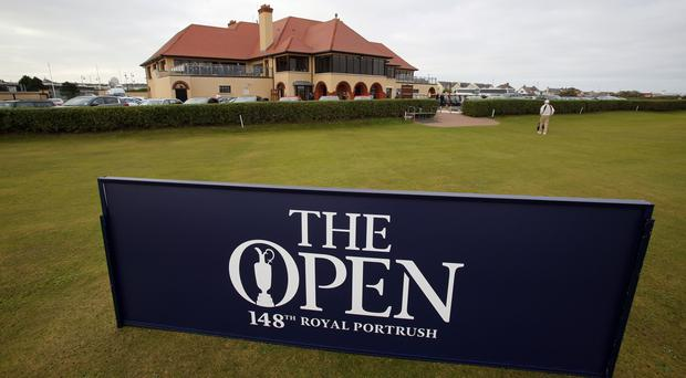 Royal Portrush Golf Club is hosting The Open in County Antrim. (PA)
