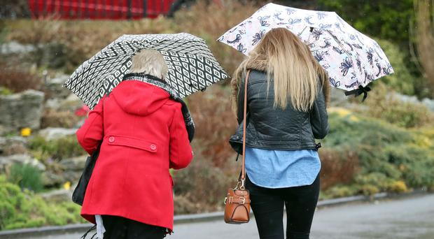 Wet weather is forecast for many on Bank Holiday Monday ( Gareth Fuller/PA)