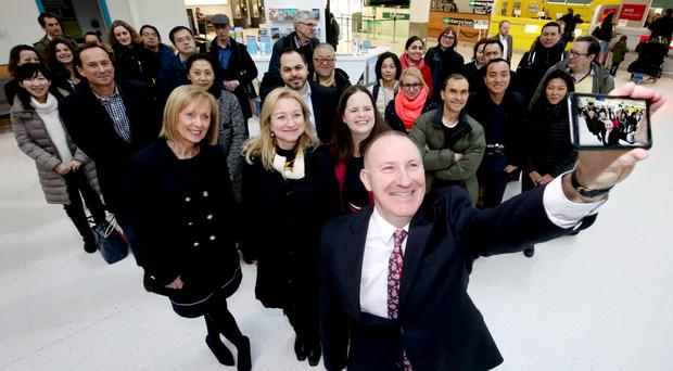 Gerry Lennon, chief executive of Visit Belfast, at George Best Belfast City Airport