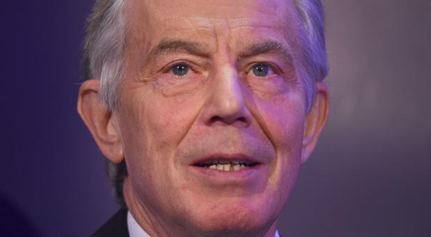 Former PM Tony Blair (Kirsty O'Connor/PA)