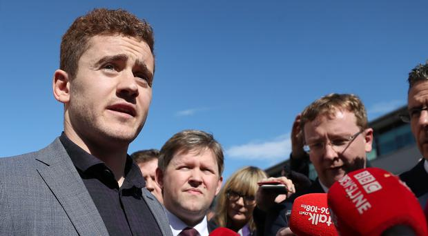 Ireland and Ulster rugby player Paddy Jackson speaking outside Belfast Crown Court after he was found not guilty of raping a woman at a property in south Belfast in June 2016 (Niall Carson/PA)