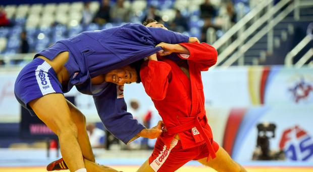 An international Sambo competition is being held in Ballymena in September (Handout photo/PA)