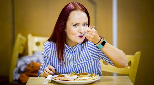 Reporter Emma Deighan tries an Ulster fry in Benny's